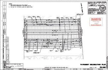 PD-C26 Pavement Delineation Plan
