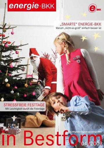 Weihnachtsspiele - energie-BKK