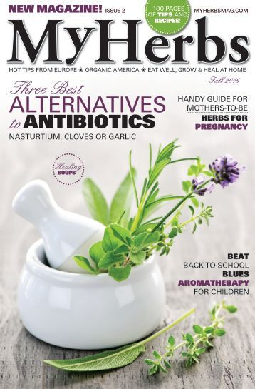 My Herbs Magazine 2, sample