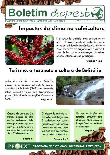Boletim BioPESB 2016 - Edição 23