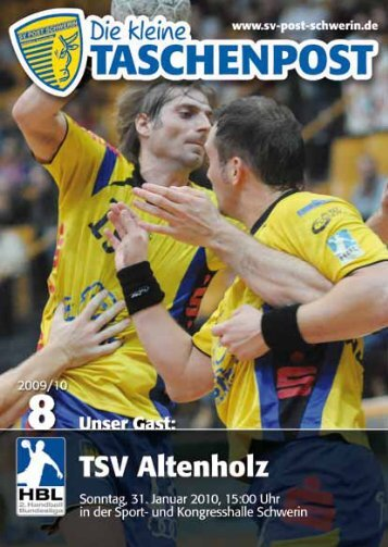 NEWS - SV Post Schwerin - Handball-Bundesliga