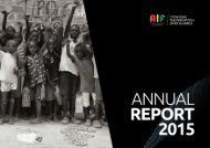 AIF annual report 2015 ENG