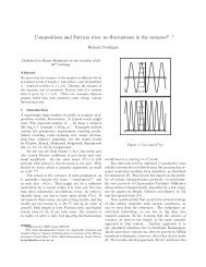 Compositions and Patricia tries - Institut für Analysis und ...