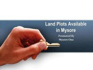 Land Plots in Mysore