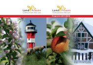 Programm 2011/2012 - Landfrauenverein Altes Land