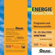Forum2006 - management für energie und umwelt