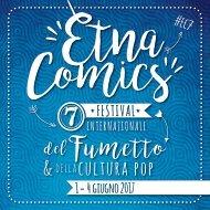 Brochure Etna Comics 2017