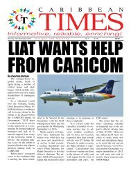 Caribbean Times 90th Issue - Monday 12th September 2016