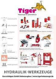 Industriehydraulik Werkzeuge