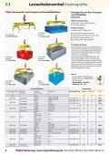 Lastaufnahmemittel - Kran Hebetechnik - Seite 6