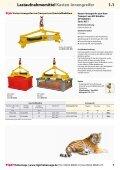 Lastaufnahmemittel - Kran Hebetechnik - Seite 7