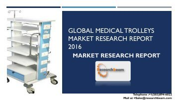 Global Medical Trolleys Market Research Report 2016