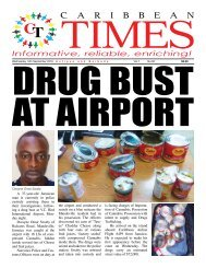 Caribbean Times 92nd Issue - Wednesday 14th September 2016