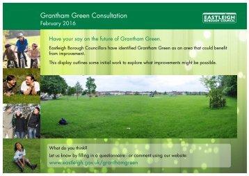 Grantham Green Consultation