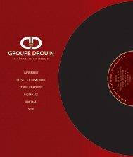 Plaquette Groupe Drouin