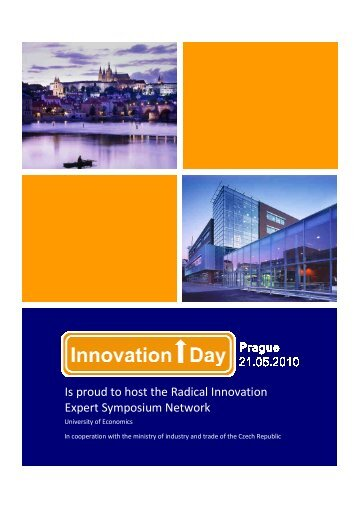 20100413 Brochure Innovation Day - CzechInvest
