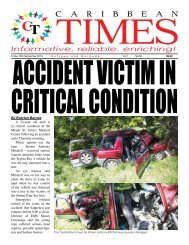 Caribbean Times 94th Issue - Friday 16th September 2016