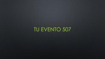 TU EVENTO 507