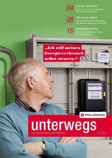 """""""Ich will meinen Energieverbrauch selbst steuern."""" - Pfalzwerke"""