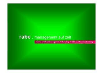 Präsentation rabe management_2015_09