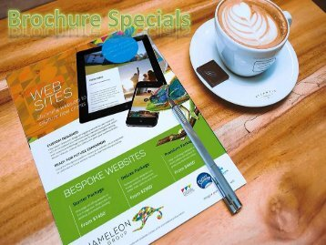 Brochure Specials - Chameleon Print Group - Australia