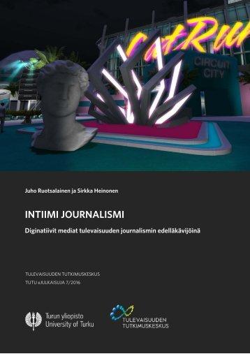 INTIIMI JOURNALISMI