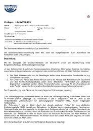 Beschlußvorlage des OB 16_SVV_0563
