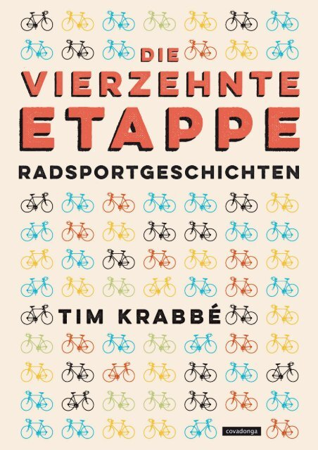 Leseprobe: Tim Krabbé - Die vierzehnte Etappe