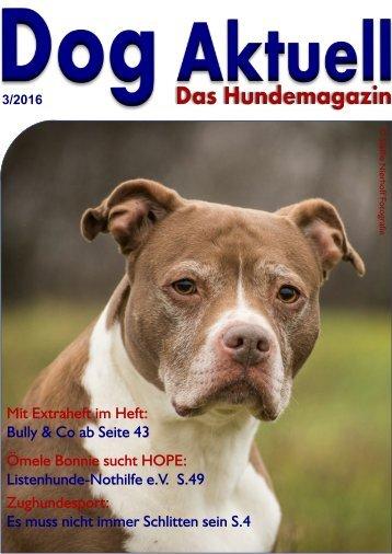 Dog Aktuell Das Hundemagazin 3-2016