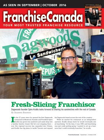 Fresh-Slicing Franchisor