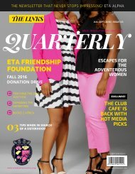 The Links Quarterly Newsletter- 3rd Edition