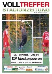 2. Ausgabe Stadionzeitung 2016/17