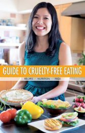 Guide to Cruelty-Free Eating