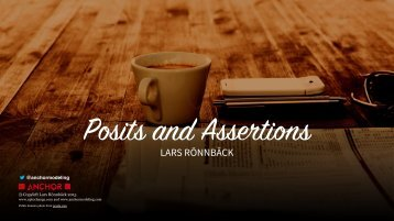 Posits and Assertions