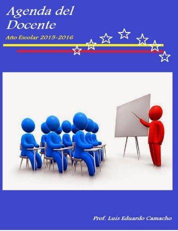 Agenda Docente 2015-2016