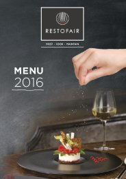 Restofair RAK - Catalogue 2016