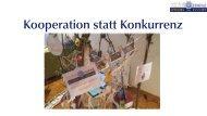 Kooperation statt Konkurrenz - Verein Zentrum Quintessenz, Netzwerk für Pioniere