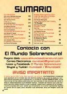 El Mundo Sobrenatural Septiembre 2016 - La Finca de los Crímenes - Page 2