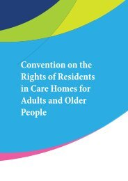 Convention on the Rights of Residents in Care Homes for Adults and Older People