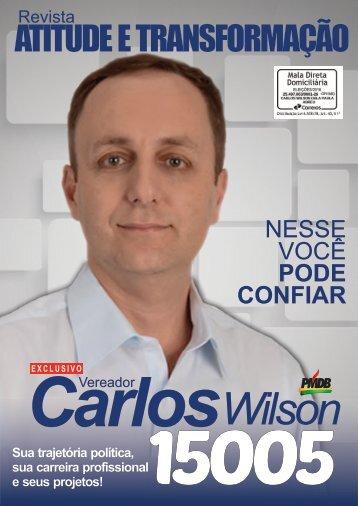 Conheça Carlos Wilson