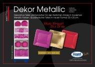 Dekor Metallic - Hosti International GmbH
