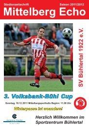 Mittelberg Echo Volksbank Bühl Cup - SV Bühlertal