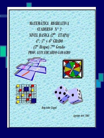 Matematica Recreativa Nº 2