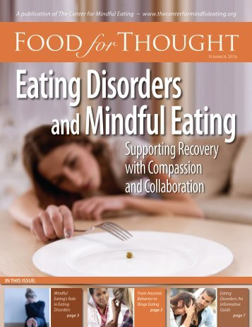 Eating Disorders Mindful Eating