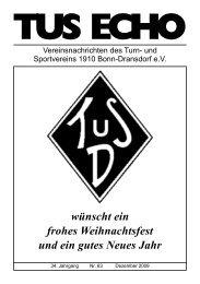 TuS 1910 Bonn-Dransdorf eV - Ortsausschuss Bonn-Dransdorf