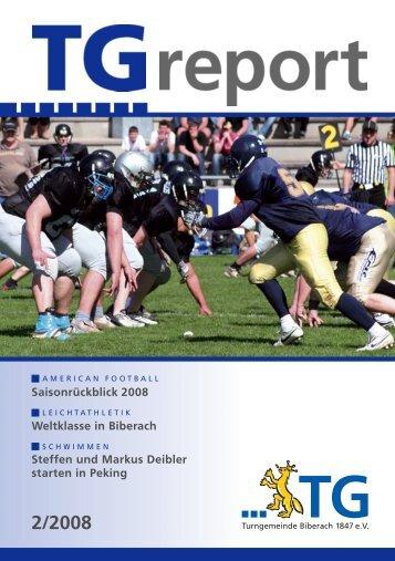 TG-Report 2 / 2008 als pdf-Datei (ca - TG Biberach