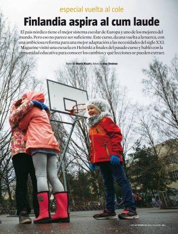 Finlandia aspira al cum laude