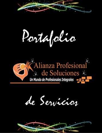 Portafolio de Servicios 2017