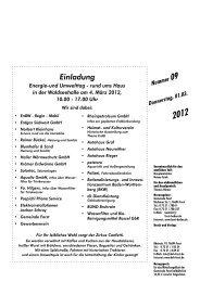 Einladung Energie-und Umwelttag - rund ums Haus ... - Forst in Baden