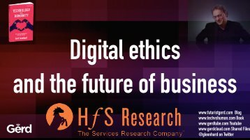 Digital ethics and the future of business